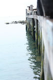 Wooden jetty Stock Photo