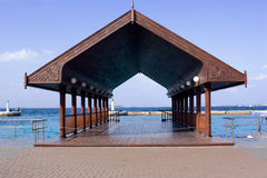 Wooden jetty. Royalty Free Stock Photos
