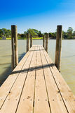Murray River Jetty Stock Images