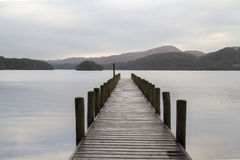 Free Wooden Jetty In The Lake District Royalty Free Stock Images - 50080209