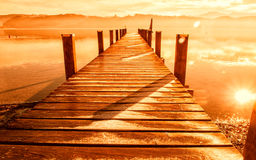 Wooden jetty 235 Royalty Free Stock Photos