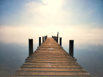 Wooden jetty (155) Stock Image