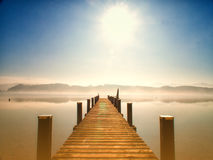 Wooden jetty 244 Stock Photography