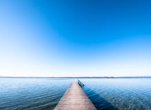 Wooden jetty Royalty Free Stock Photography