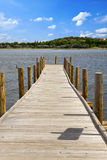 Wooden jetty Stock Photography