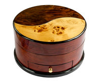 Wooden Jewel Box Stock Photo