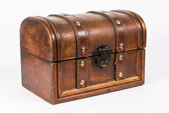 Wooden jewelry case Royalty Free Stock Photo