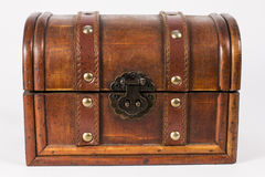 Wooden jewelry case Royalty Free Stock Photos