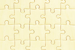 Wooden jigsaw puzzles Royalty Free Stock Images