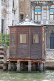 Wooden Kiosk Venice Royalty Free Stock Photo