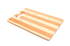 Wooden kitchen board Royalty Free Stock Image