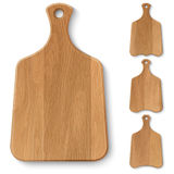 Wooden kitchen boards Stock Image