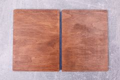 A wooden kitchen box royalty free stock image