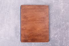 A wooden kitchen box royalty free stock photos