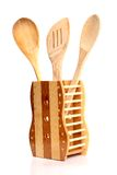 Wooden kitchen tools. Royalty Free Stock Photo