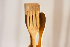 Wooden Kitchen tools Royalty Free Stock Photography