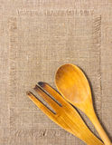 Wooden kitchen tools Royalty Free Stock Image