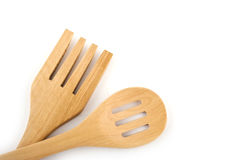 Wooden kitchen utensil Stock Photos