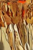 Wooden kitchen utensils Royalty Free Stock Image