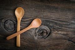 Wooden kitchen utensils. Royalty Free Stock Photos