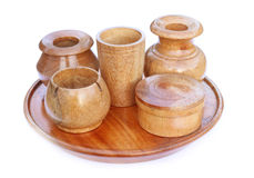Wooden kitchenware Stock Photo