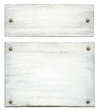 Wooden label Stock Images