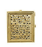 Wooden labyrinth game Stock Photography