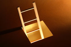 Wooden Ladder Royalty Free Stock Photography