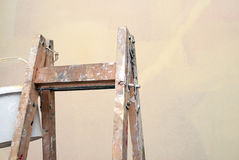 Wooden ladder Royalty Free Stock Photos