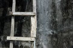 Wooden ladder Stock Photos