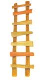 Wooden ladder Vector Illustration