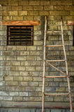 Wooden ladder Royalty Free Stock Photo