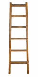 Wooden ladder isolated on white. Wooden ladder isolated   on white Royalty Free Stock Images