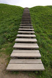 The wooden ladder Stock Photography