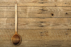Wooden ladle Stock Photography