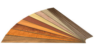 Wooden laminated construction planks Royalty Free Stock Photography