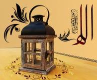 A wooden lantern Royalty Free Stock Photos