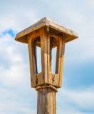 Wooden lantern Royalty Free Stock Photography