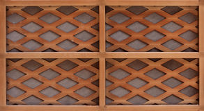 Wooden lath Royalty Free Stock Photos