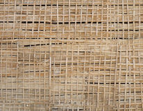 Wooden lath on the wall Royalty Free Stock Image