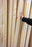 Wooden Laths Stock Photography