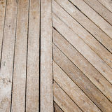 Wooden laths wooden laths close-up Stock Photography