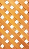 Wooden lattice. Isolated on white background stock photos