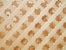 Wooden lattice Royalty Free Stock Photos