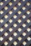 Wooden lattice Stock Photo