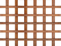Wooden lattice isolated Stock Photos