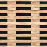 Wooden lattice Stock Photography