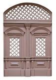 Wooden lattices as decorative elements Stock Photos