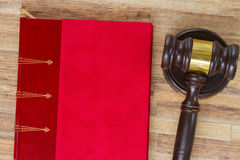 Wooden Law Gavel Royalty Free Stock Image