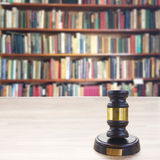 Wooden Law Gavel Royalty Free Stock Images
